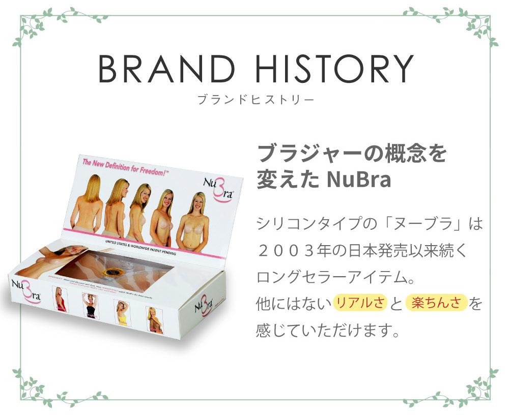 ブランドヒストリー ブラジャーの概念を変えたNuBra